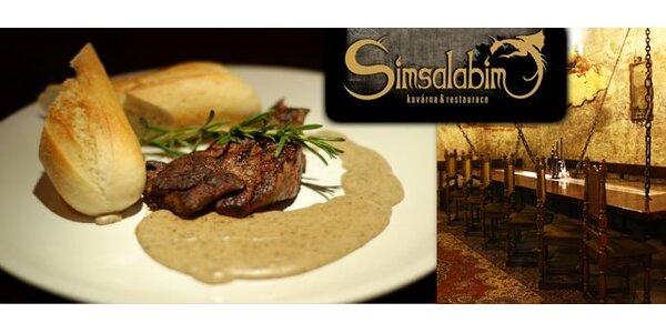 249 Kč za DVA grilované klokaní steaky s bagetkami se slevou 50%.