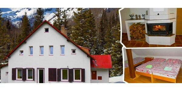 Lyžařský pobyt v Jizerských horách na víkend pro 2 osoby