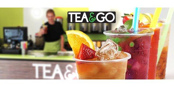 2 nebo 5 originálních a lahodných čajů Bubble Tea!