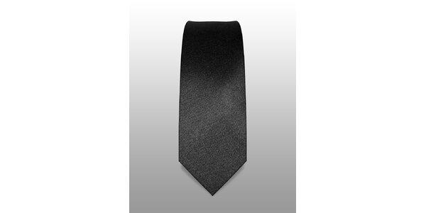 Černá kravata značky Vincenzo Boretti