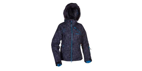 Dámská černá zimní bunda s kapucí Envy
