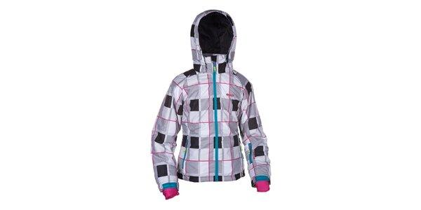 Dámská kostkovaná lyžařská bunda Envy