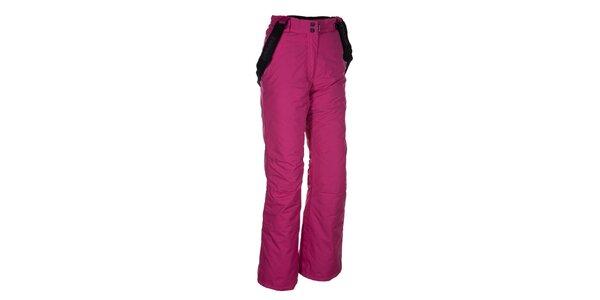 Dámské růžové kalhoty na lyže Envy