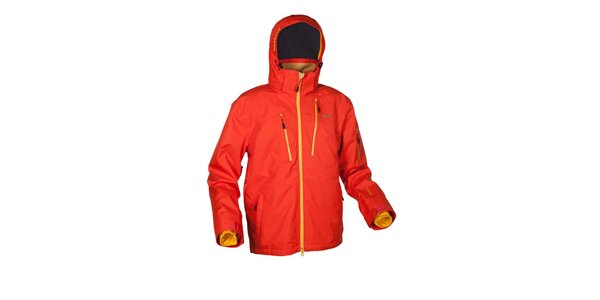 Pánská oranžová zimní bunda Envy
