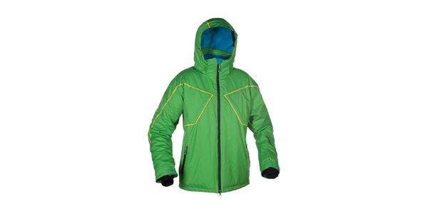 Pánská zelená lyžařská bunda Envy