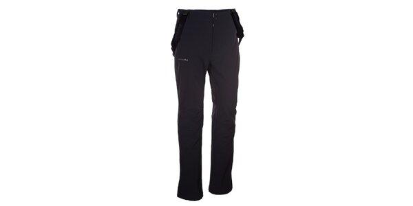 Pánské černé softshellové kalhoty Envy