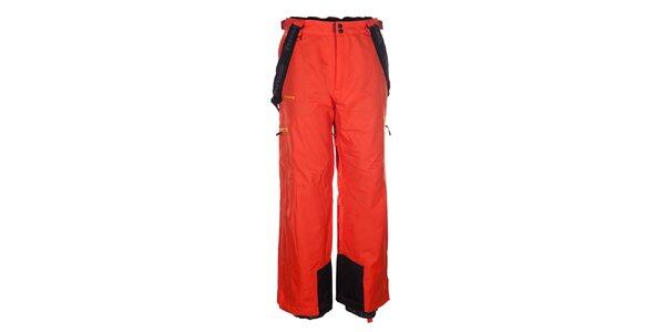Pánské červené snowboardové kalhoty Envy