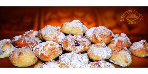 Pět druhů ručně vázaných svatebních koláčků