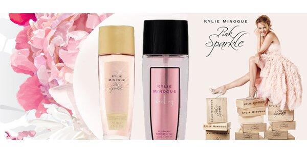 Dvě svůdné vůně Kylie Minogue ve spreji
