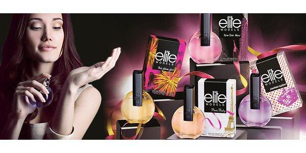Elite Models – balíček 4 vůní světových módních metropolí