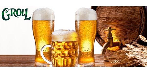 3 půllitry pšeničného piva Waldschmidt Weissbier