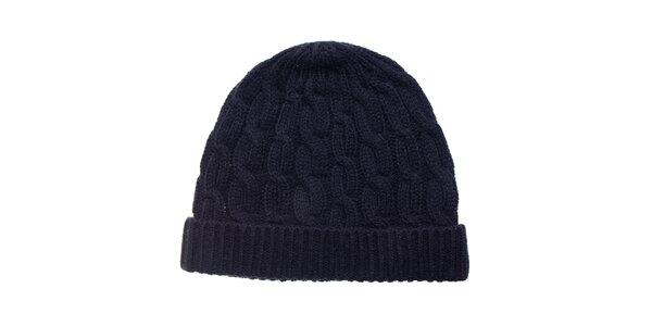 Dámská černá pletená čepice Fraas