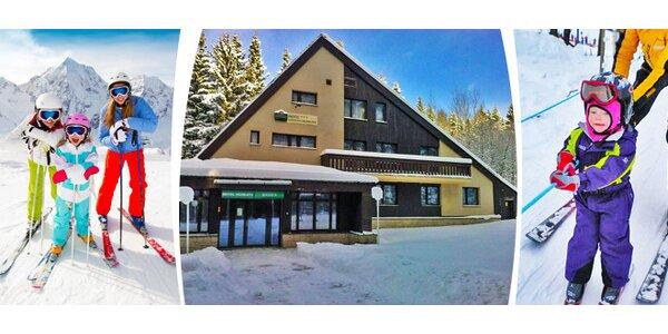 Zimní lyžařský tábor od 4 do 15 let v Harrachově (lze i s rodičem / prarodičem)