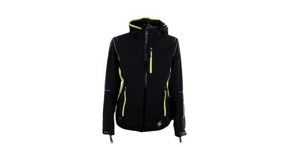 Dámská černo-zelená funkční bunda Blizzard