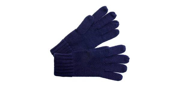 Dámské tmavě modré rukavice Fraas