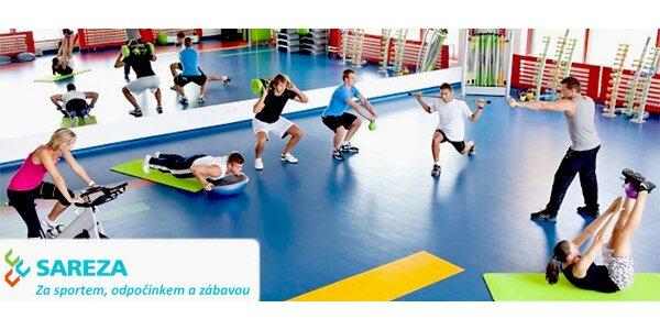 Osobní tréninky s fitness trenérem ve fitness centru SAREZA v areálu krytého…