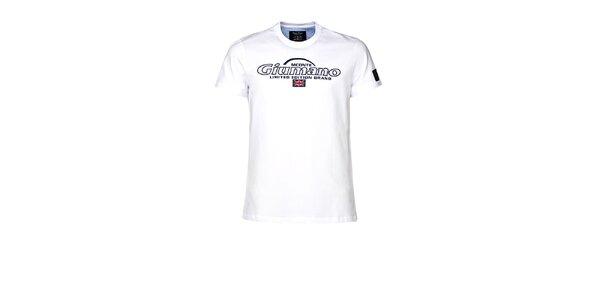 Pánské bílé tričko M. Conte