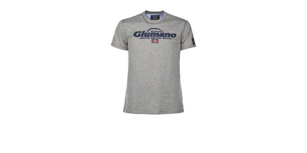 Pánské šedé tričko M. Conte