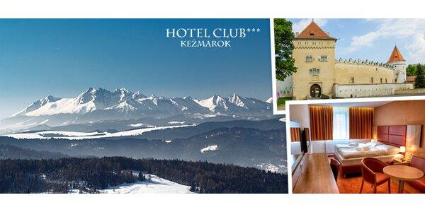 Vysoké Tatry pro dva na 4-5 dní. Vstup do termálů v ceně!