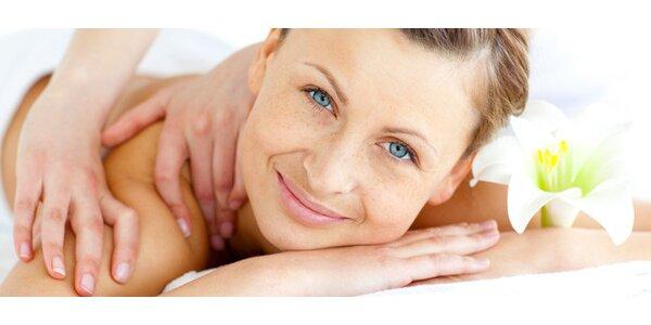 30 nebo 60minutová masáž - na výběr z osmi druhů!
