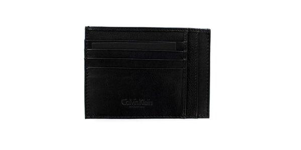 Pánská černá kapsa na doklady Calvin Klein