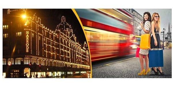 Last Minute povánoční výprodeje v Londýně již 17.-19.1.2014