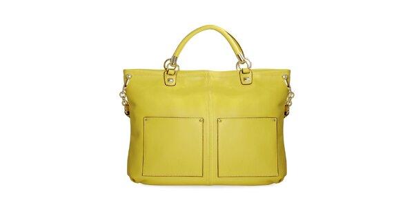 Dámská neonově žlutá kabelka Belle & Bloom