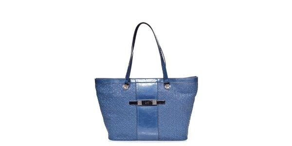 Dámská světle modrá kabelka Guess