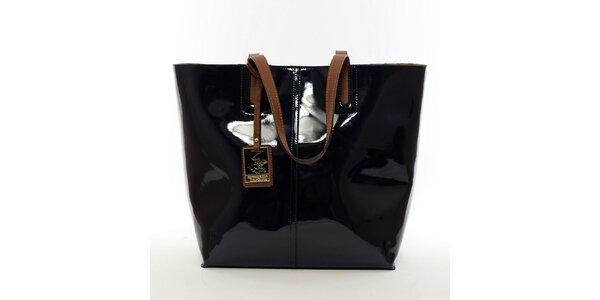 Dámská tmavě modrá kabelka s vyjímatelnou kapsou Beverly Hills Polo Club