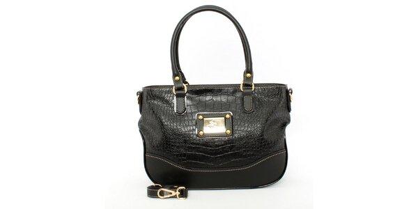 Dámská černá kabelka s odnímatelným popruhem Beverly Hills Polo Club