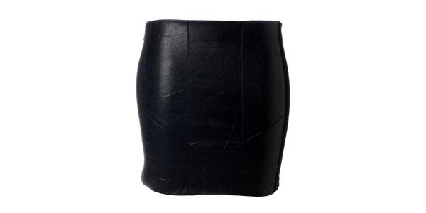 Dámská černá minisukně Kzell