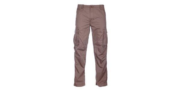 Pánské světle hnědé sportovní kalhoty Loap