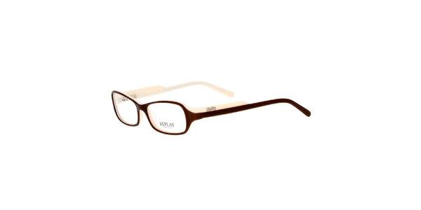 Dámské krémovohnědé brýle Replay