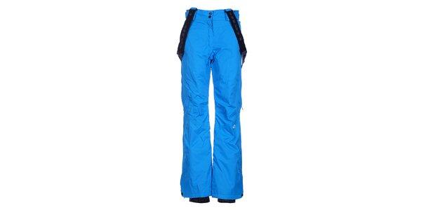 Dámské zářivě modré lyžařské kalhoty Loap