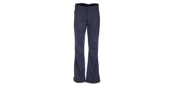 Dámské tmavě šedé softshellové kalhoty Loap