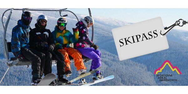 8hodinové skipasy do skiareálu Harrachov