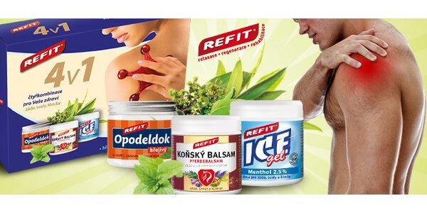 Masážní balíček 4v1 proti bolesti