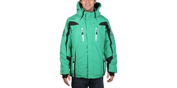 Pánská lyžařská zelená bunda Geographical Norway