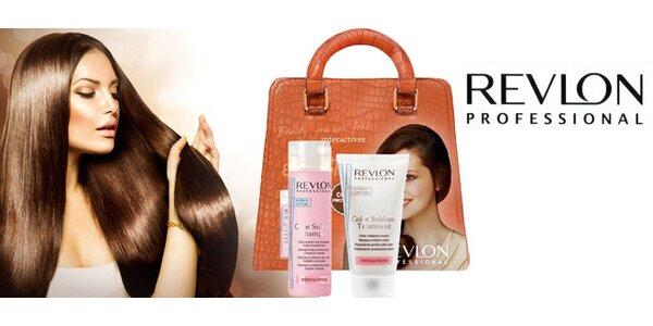 Revlon balíček – šampón a sérum pro barvené vlasy