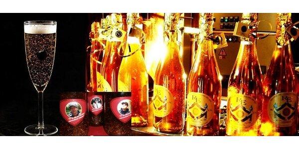 Valentýnská edice Zlatého piva s fotem vašeho zlatíčka