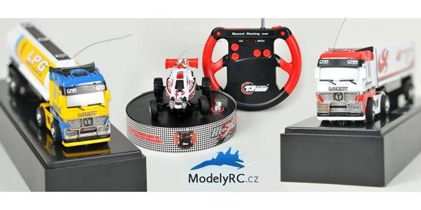 Mini RC autíčka s dálkovými ovladači