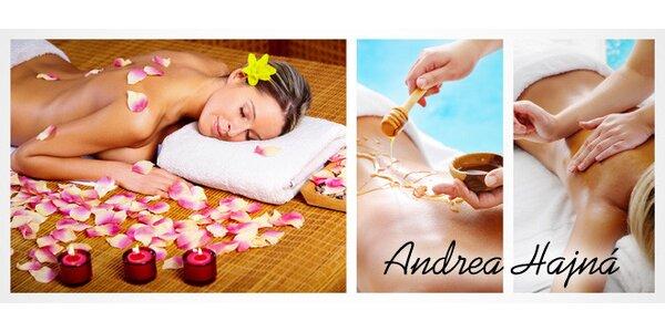 Švédská, medová nebo aroma masáž