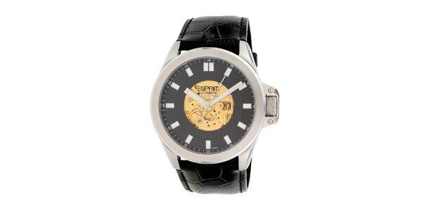 Pánské stříbrné hodinky s automatikou Esprit