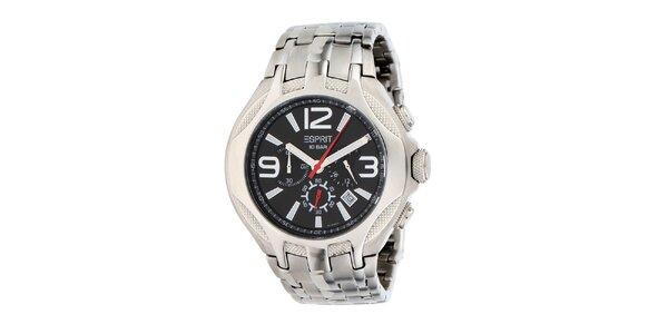 Pánské hodinky ve stříbrné barvě Esprit