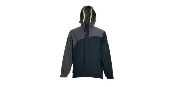 Pánská streetová jarní bunda značky Humdrum v černošedé
