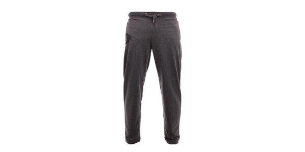 Pánské tmavě šedé tepláky Exe Jeans