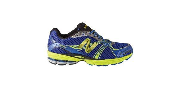 Pánské modro-zelené běžecké boty New Balance