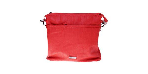 Dámská malá červená kabelka Elle