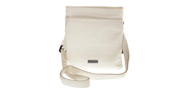Dámská bílá mini kabelka Elle