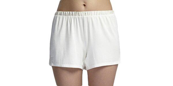 Dámské spací nohavičky bílé Les Affaires